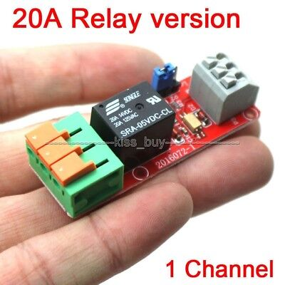 1 Channel 20A Relay Control Module for Arduino UNO MEGA2560 R3 Raspberry Pi