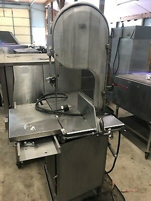 BIRO 3334 Commercial Butcher Shop Meat & Bone Processing Band Saw... NICE!!