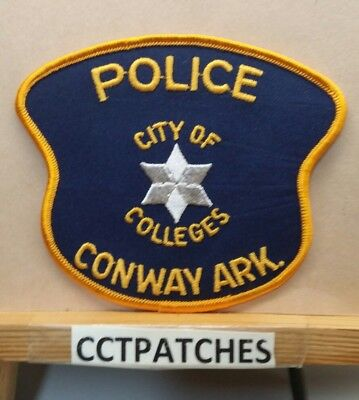 Conway, Arkansas Police Shoulder Patch Ar