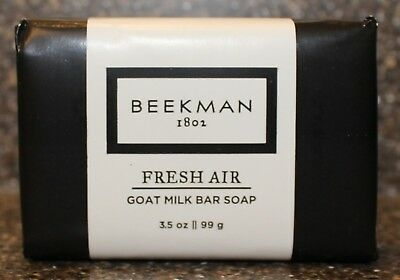 Beekman 1802 Fresh Air Goat Milk Bar Soap 3.5 ounces/99 grams