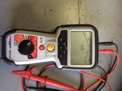 Megger MIT415 Insulation/continuity tester