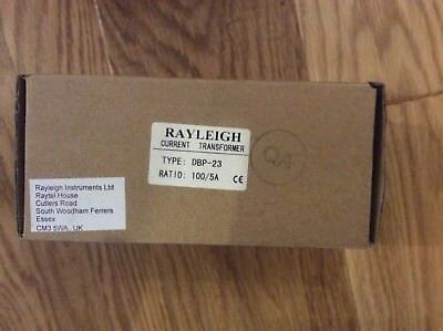 3x Rayleigh DBP-23 Moulded Case Current Transformer 1X 100/5 Split Core
