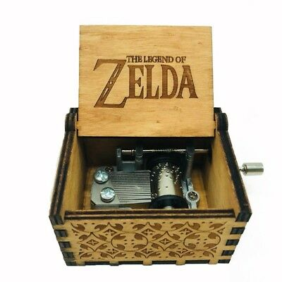 The Legend of Zelda Wooden Music Antique Box