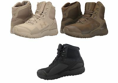 775fced0b60 UNDER ARMOUR MEN'S 1250234 Valsetz RTS Boot Black, Coyote Brown, and Desert  Sand