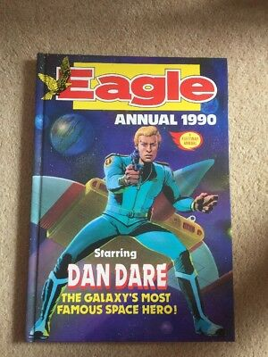Very Good, EAGLE ANNUAL 1990., Fleetway Publications., Book