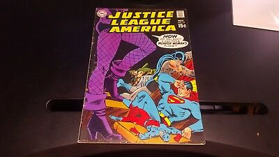 Justice League of America # 75 - 1st Dinah Lance Black Canary VG