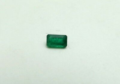 5x3mm, .3 Carat, Loose Natural Zambian Emerald. Minimal Inclusions!