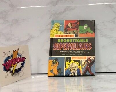 The Legion of Regrettable Super Villains, Hard Cover Book, Loot Crate Exclusive