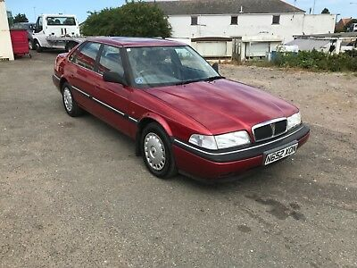 96 Rover 827i family owned from new service history only 8 left on the road