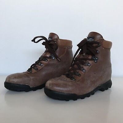 Vintage Vasque Sundowner Hiking Boots Size 7 Made In italy