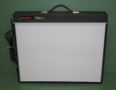 Knox Acculight Tabletop Still Picture Projector Light Box Tracking Slides X-Ray