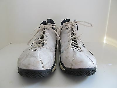 b748a54a2f4 Men s Nike Air Team Size 13 Basketball Shoes Blue and White