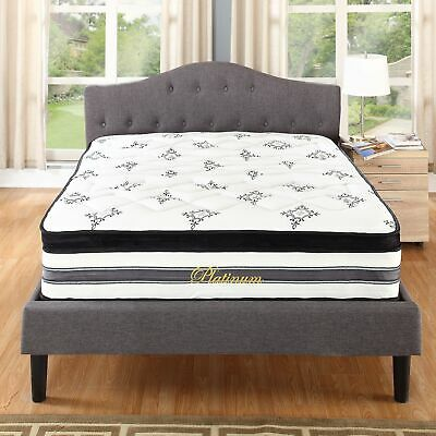 15 Inch Hybrid Pocket Spring and Memory Foam Mattress Bed, Full Size