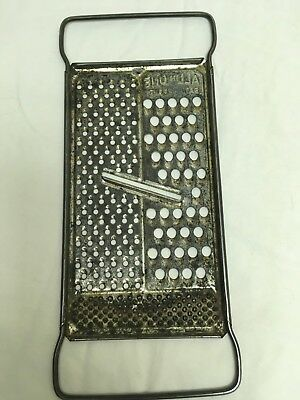 Vintage/Antique Hand Held All in One Grater,Slicer, Patent Pending