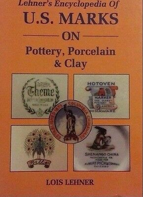 Encyclopedia Of Pottery Marks Reference Guide Collector's Book 635 Pages