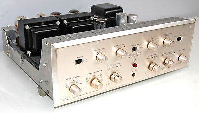 SCOTT 296 Dynaural Dual 2-Channel Vacuum Tube Stereo Integrated Amplifier AMP