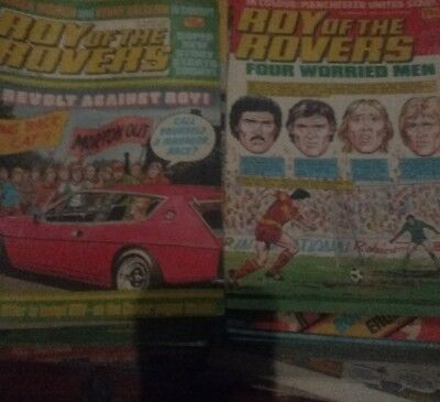 Roy The Rovers Comics 49 * 1983 & 35 * 1985