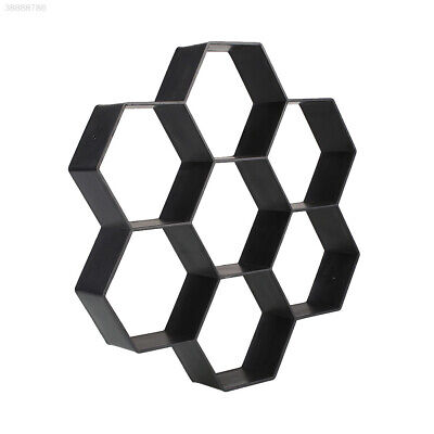 Hexagon Driveway Paving Pavement Stone Mold Concrete Stepping Mould Paver