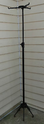 Antique Cast Iron Store Clothing Rack Collapsible Mc Callum Co. Pittsburgh Pa.