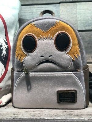SDCC San Diego Comic-Con 2018 Loungefly Star Wars Porg Mini Backpack 500 LE