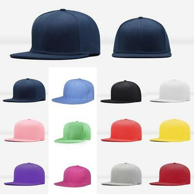 Men Blank Plain Snapback Hats Unisex Hip-Hop Adjustable Bboy Baseball Caps  ZH 13c39a2eddaf