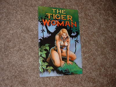 1997 The Tiger Woman 1 cover B Don Marquez Sharp VF Free Shipping
