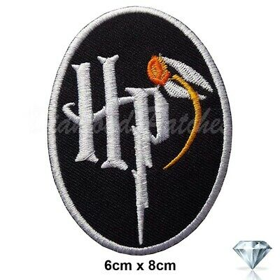 Harry Potter School Crest HP Novelty Iron Sew On Embroidered Badge Patch