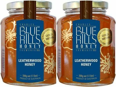 Leatherwood Honey, Blue Hills, Tasmanian, Twin Pack,  2 * 500gms, free shipping
