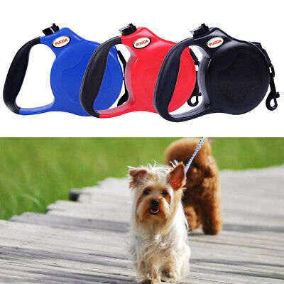All Pet Solutions Retractable Dog Lead Comfort Extending Leash Cord Long 8M