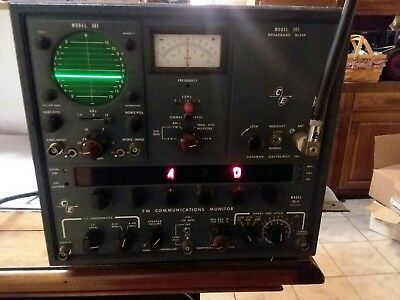 Cushman Electronics model CE-3  fm communications monitor