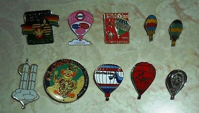 Balloons pins World Trade Center clown Atlas Van Line Lucar etc FREE SHIPPING