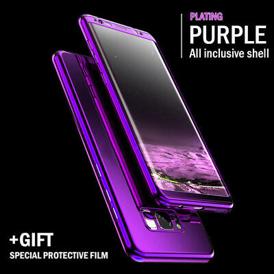 Luxury Bling Mirror Full Cover For Samsung Note 9 8 S10 Case 360 Full Protection