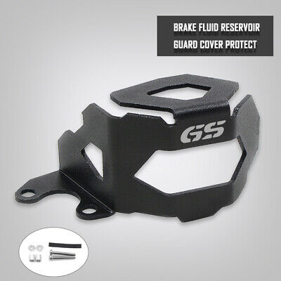 Black Motorcycle Front Brake Fluid Reservoir Guard Cover For BMW F800GS F700GS