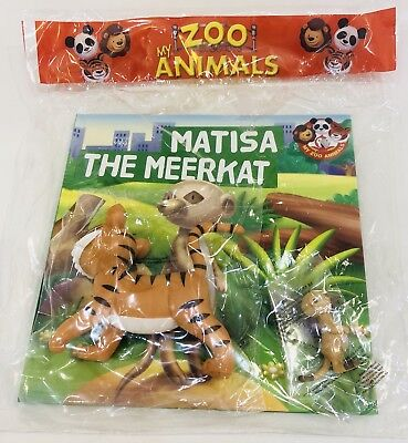 My Zoo Animals Book & Figurine Collection Issue #15 (BRAND NEW)