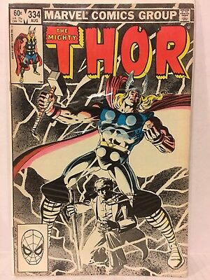 Thor 10 Comic Lot 337 1st App Beta Ray Bill Low Grade 338 339 340 344 Malekith
