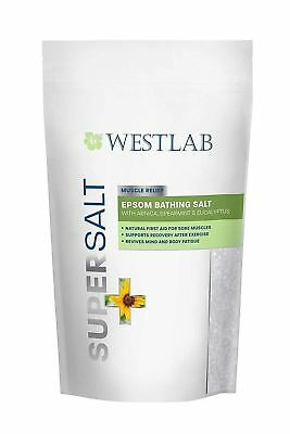 Westlab Supersalt  Epsom Muscle Relief 1010g