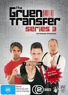 The Gruen Transfer Series 3 DVD 2010 2-Disc Set Brand New Sealed