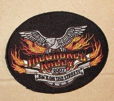 Motorcycle Patch- Milwaukee Rally 2007 - Back on the Streets