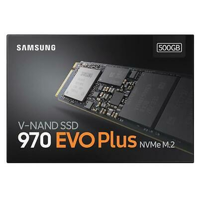 Samsung 970 EVO PLUS SSD 500GB M.2 NVMe 3500MB/s Solid State Drive Internal