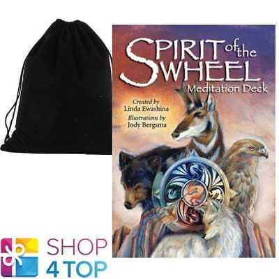 Spirit Of The Wheel Meditation Deck Cards Us Games Systems With Velvet Bag New