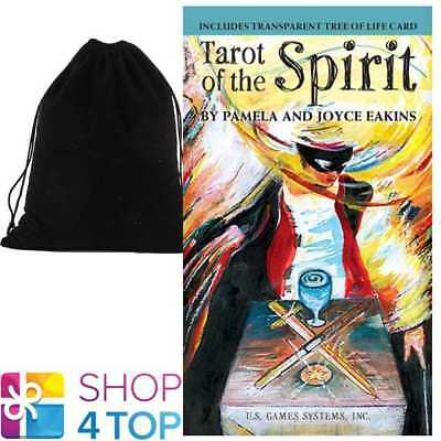 Tarot Of The Spirit Cards Deck Esoteric Us Games Systems With Velvet Bag New