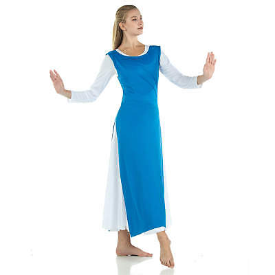 Danzcue Womens Dance Tunic Top with Side Slits