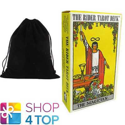 Rider-Waite Tarot Deck Cards Esoteric Classic Us Games Systems With Velvet Bag