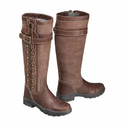 Harry Hall Overstone Country Boots - Size UK 8 (EU 42) - CLEARANCE