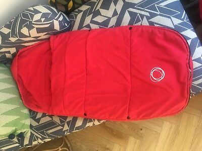 Bugaboo Footmuff/Cosytoes Red