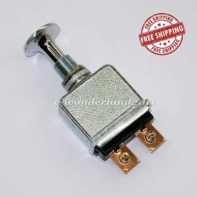 Heavy Duty 75 Amp Push Pull Switch 6-28 Volt Universal Truck, Forklift, Golf Car