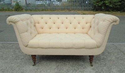 2 Seater Scroll Arm Sofa    Delivery Available
