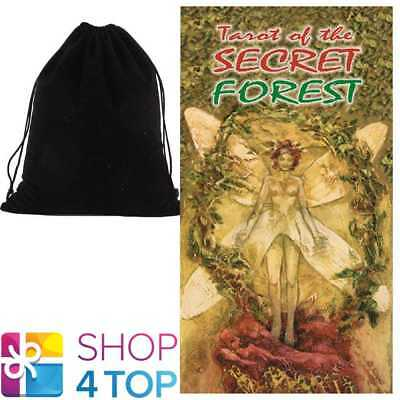 Tarot Of The Secret Forest Deck Cards Mattioli Esoteric Lo Scarbeo Velvet Bag