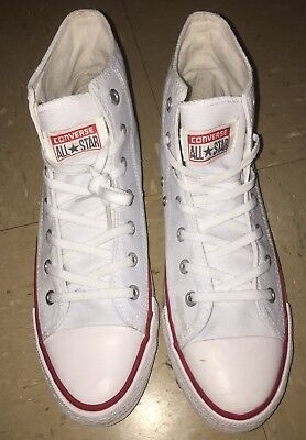 Converse Chuck Taylor All Star High Top White Size M8.5/W10