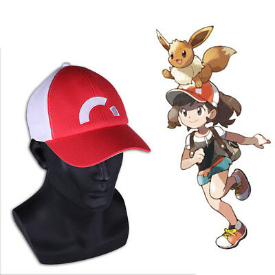 New Pokemon Let s Go Hat Misty Hat Pokemon Ash Ketchum Embroidered Baseball  Hat 01a32c74dfda